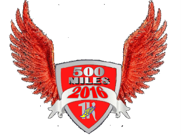 500 mile badge
